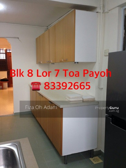 Blk 8 Lorong 7 Toa Payoh 8 Lorong 7 Toa Payoh 2 Bedrooms 730 Sqft Hdb Apartments For Rent