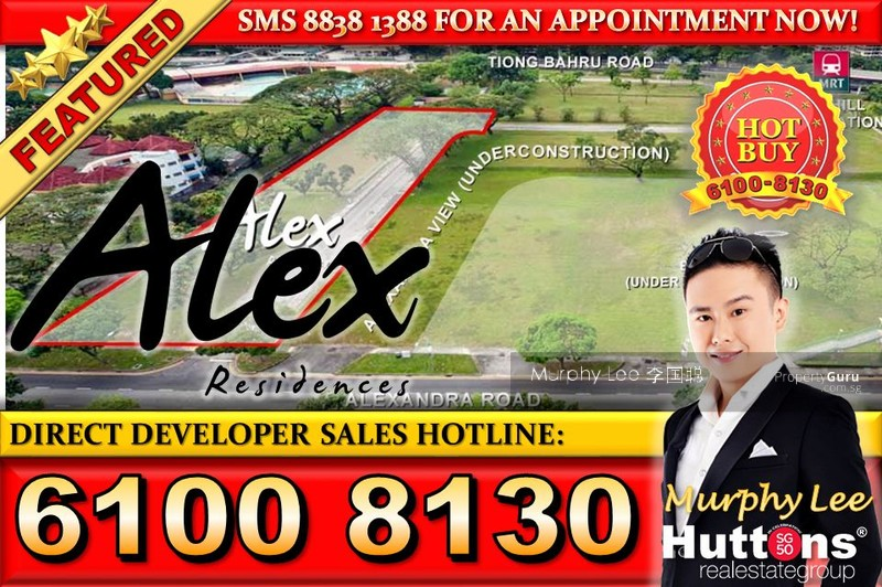 Alex Residences, Alexandra View, 3 Bedrooms, 883 Sqft ...