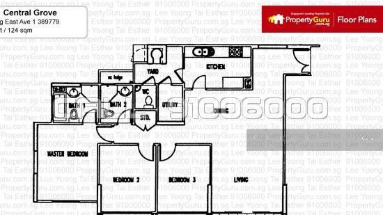 Central Grove 1 Geylang East Avenue 1 Room Rental 130 Sqft Condos Apartments For Rent By Lee Yoong Tai Esther S 1 100 Mo 20344569