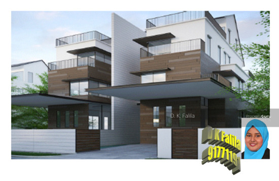 Brand New 3 Storey Semi Detached House With Attic And