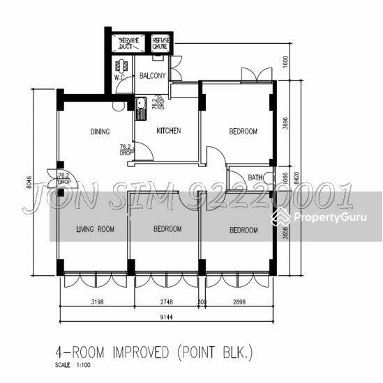 Interior Design For Hdb At Ang Mo Kio Avenue 1: BLK 34 Jalan Bukit Ho Swee, Room Rental, 200 Sqft, HDB