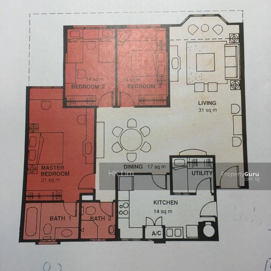 Euro-Asia Park, 25 Woodleigh Close, 3 Bedrooms, 1421 Sqft ...