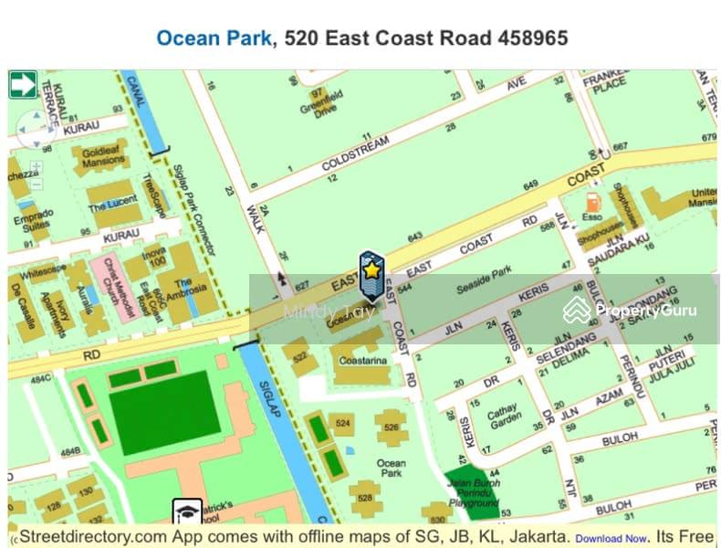 Ocean Park 530 East Coast Road 3 Bedrooms 2100 Sqft