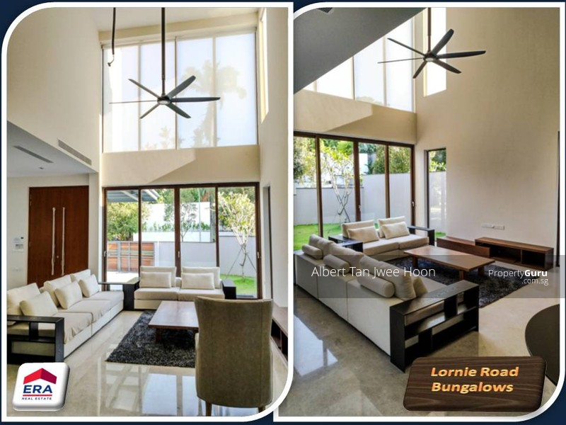 Stylish Bungalow With High Ceiling Lornie Road 5 Bedrooms 9200 Sqft Landed Houses Terraced