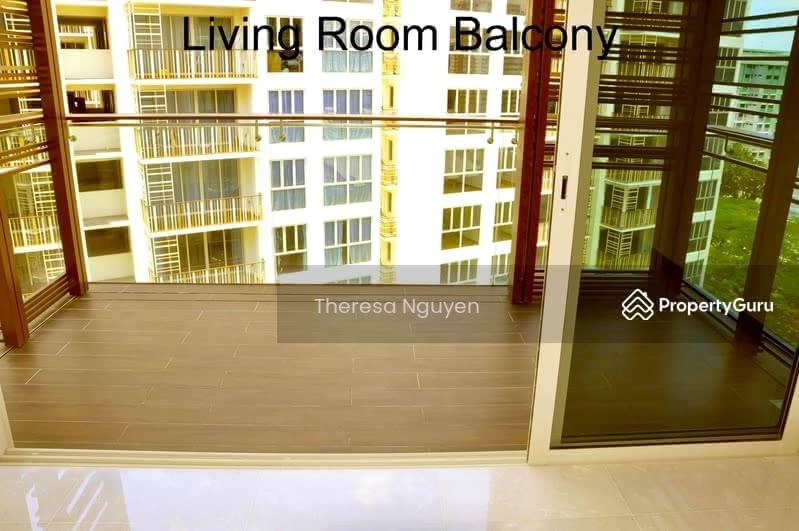balcony at living room