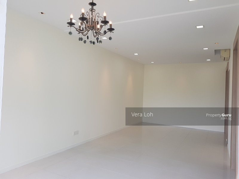 Spacious Living cum Dining Hall with Balcony