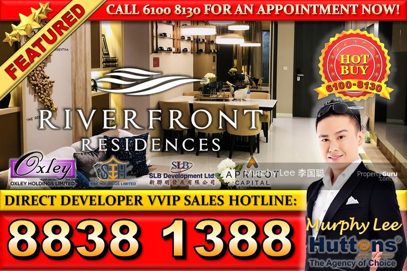 Riverfront Residences 344 Hougang Avenue 7 1 Bedroom 463 Sqft