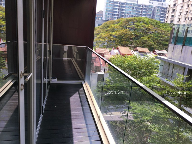 Balcony, accessible to Master Bedroom and Living Room