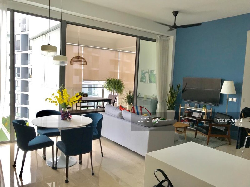 Living and Dining Room + Balcony