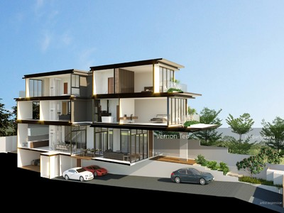 Landed house, terraced house, detached house, semi-detached house