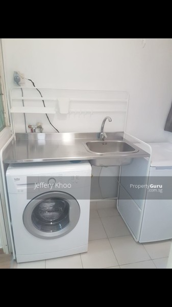 Mini Kitchennete with Washing Machine