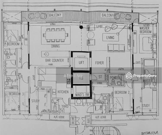 Botanika 50 Holland Road 5 Bedrooms 2906 Sqft Condos Apartments For Sale By Alfred Ng S 6 500 000 21794948