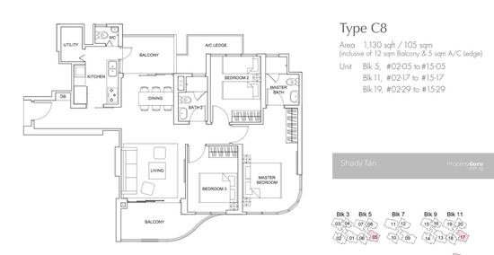 Arc At Tampines Tampines Avenue 8 3 Bedrooms 1130 Sqft Condos Apartments For Sale By Shady Tan S 1 110 000 21803302