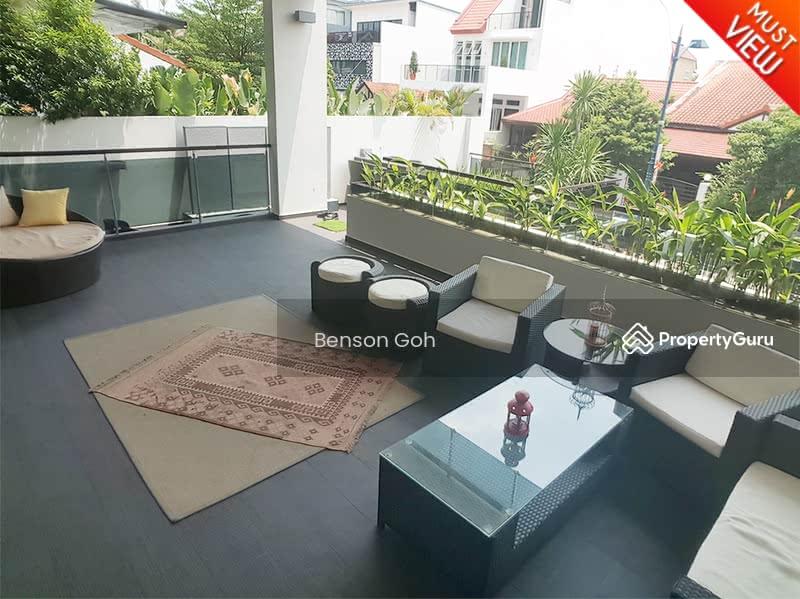 Serangoon Garden Estate ★ Modern with Pool Semi-D ★ #107889612
