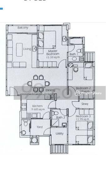 Estella Gardens 21 27 Flora Road 3 Bedrooms 1292 Sqft Condos Apartments For Sale By Rennie Goh 吴蕊玲 S 1 100 000 21820850