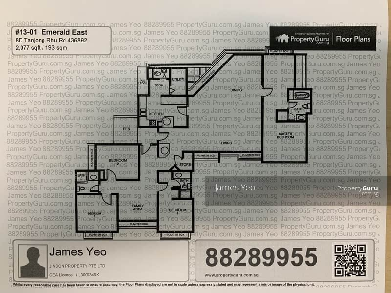 Emerald East 8d Tanjong Rhu Road 4 Bedrooms 2077 Sqft Condos Apartments For Sale By James Yeo S 3 120 000 21869985