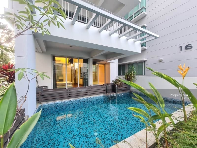 Ground Floor Unit with Private Pool