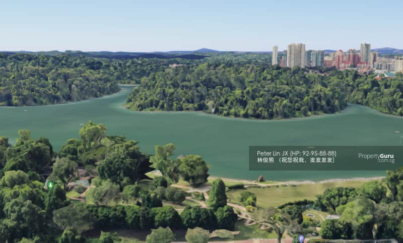 1200PSF! RESERVOIR VIEW! GOLF & NATURE LOVER! WIDE FRONTAGE- GCB (顶级优质洋房) (9295-8888 祝您祝我, 发发发发) #129326538