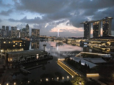 For Sale - The Sail Marina Bay Sands MRT Downtown Raffles Place Panoramic View
