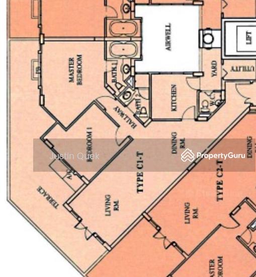 Villa Marina, 33 Jalan Sempadan, 2 Bedrooms, 1130 Sqft