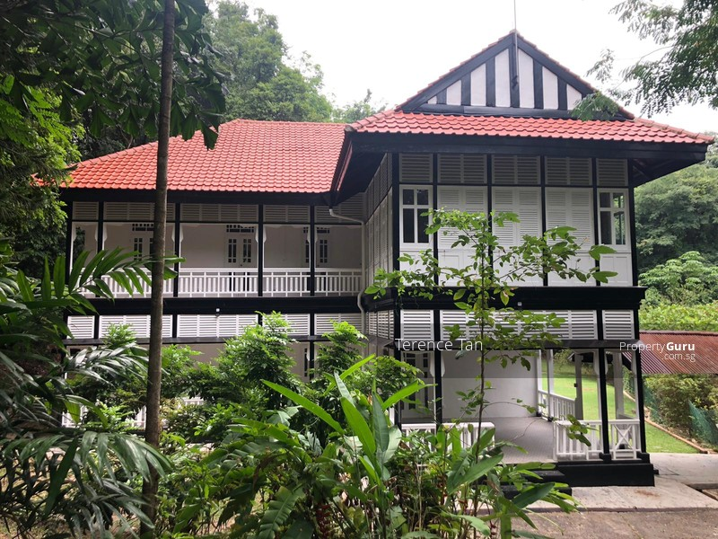 Black and White House at Mount Faber #112435996