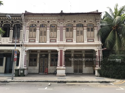 For Sale - Charming Inter-Terrace with Historical Facade in Conservation Geylang