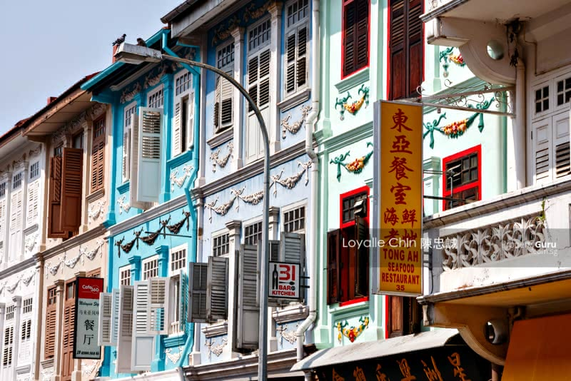 EXQUISITE 999 F&B 3 Storey Conserved Shophouse w Huge Land #129698396