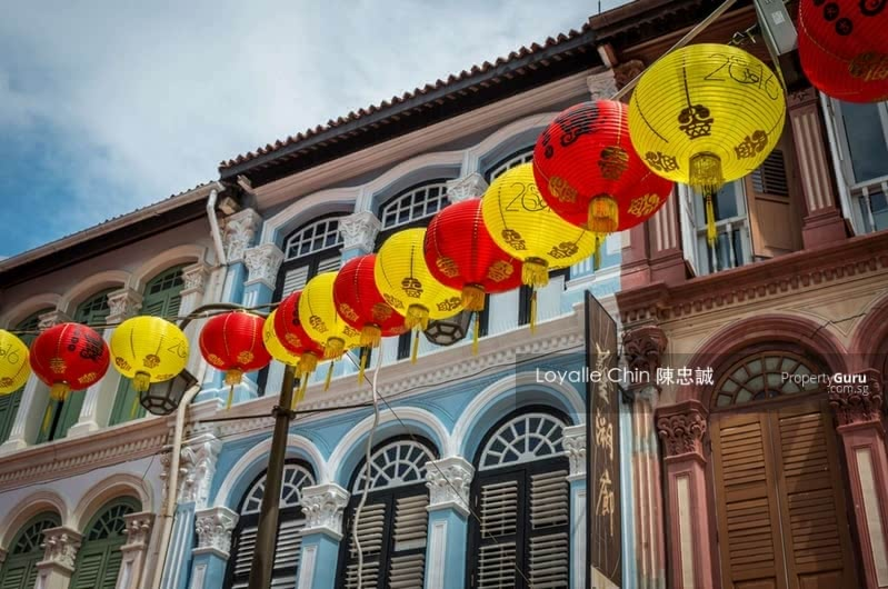 EXQUISITE 999 F&B 3 Storey Conserved Shophouse w Huge Land #129698412