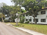 Colonial Black and White Apartment; Linden Drive / Bukit Timah