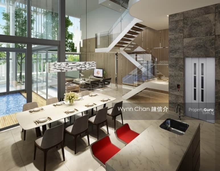 ⭐ WLD ⭐ New Pair Semi-Detach D16 Built by Reputable Group with pool, home lift Bedok Avenue #124013526