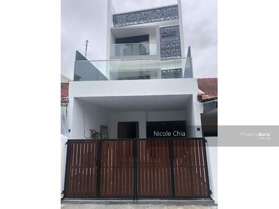 For Sale - Brand new Kovan freehold terrace with lift walk to Kovan MRT