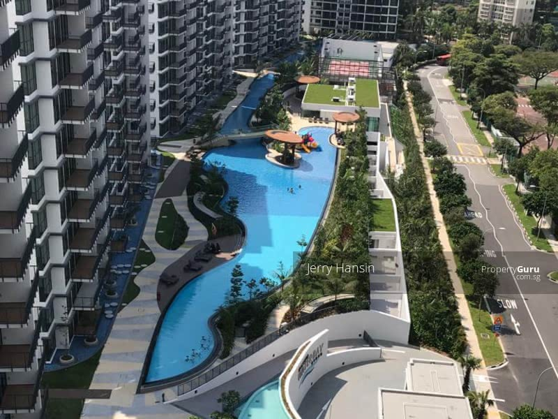 Actual view in unit. Kingsford Waterbay - Jerry homy.sg