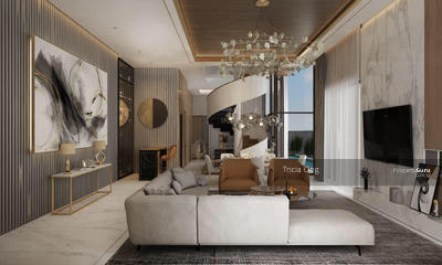 For Sale - Brand New 2020 Modern Lux Design Pair of Semi-D With Lift And Pool (Pls Call Tricia Ong 90297512! )