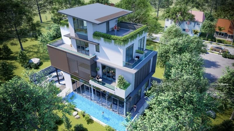 ⭐⭐LANDED7772@BRAND NEW DETACHED AT KOVAN VICINITY #127004348
