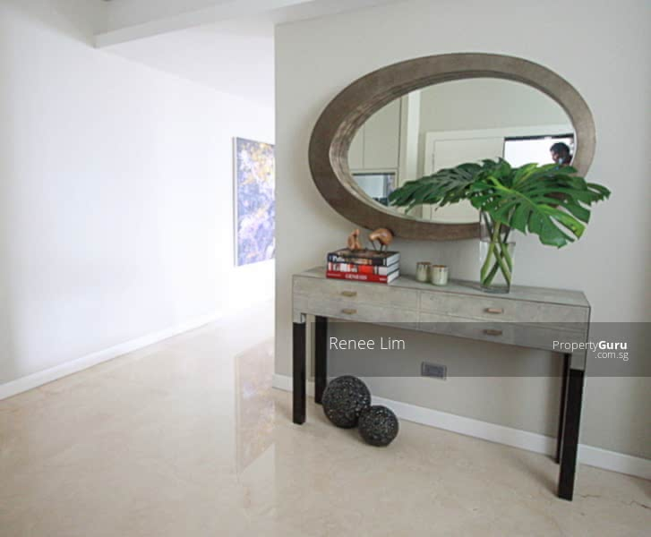 Entry foyer to create privacy