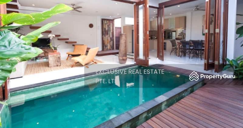 D15 ⚡️★ like NEW 3 Storey Bungalow Balinese style w/ Pool & Beautiful Landscaping beside MRT #130159770