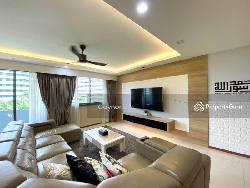 Beautifully renovated living area