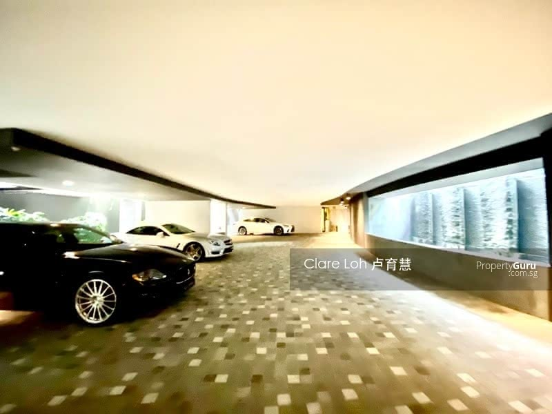 Ultra modern gcb with lush greenery and privacy for sale #127599572