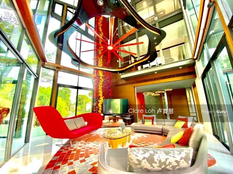 Ultra modern gcb with lush greenery and privacy for sale #127599574