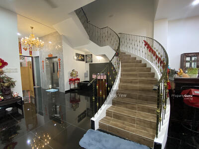 For Sale - FREEHOLD 4-STOREY SEMI-D RENOVATED - Tanah Merah Kechil Road South