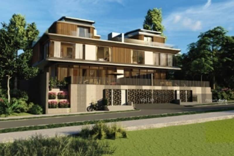 For Sale - Bukit Timah D11 Greenmead ★ $10. 5m Brand New Semi-D ★ 2. 5 Storey with Basement Parks 4 Cars 1km RGPS
