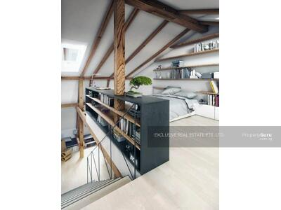 For Sale - D15 Five Storey Corner Terrace With Attic Nestled In the Frankel Estate Near Siglap Centre
