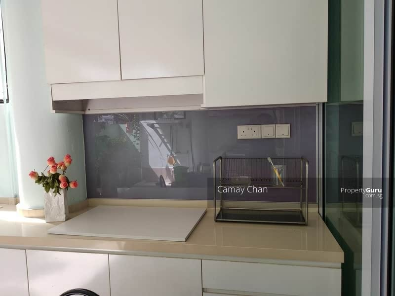 Kitchen cabinet and counter