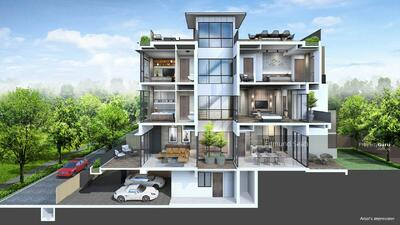 For Sale - ★ Brand New ★ Bespoke Luxury Landed Homes ★ minutes from Cashew MRT ★