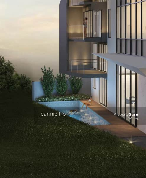 Lengkok Merak Brand New 2 Storey Semi-Detached with mezzanine & Attic Mins Boulevard Mrt #128387562