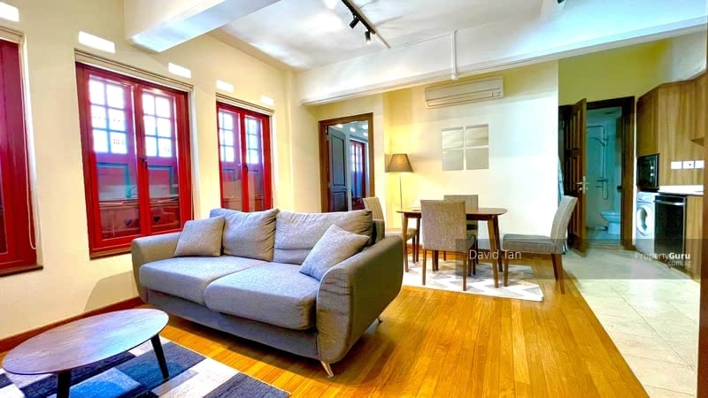 ** UNIQUE AWARD WINNING CONSERVED SHOPHOUSE APARTMENT FOR LEASE ** #129194854