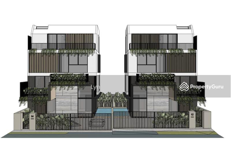 *D19* Brand New 2.5 Storey Corner Terrace @ Serangoon Garden #128463700