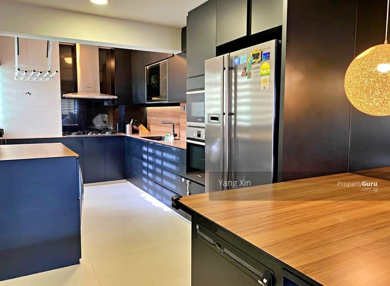 open & dry kitchen design with quality finishes