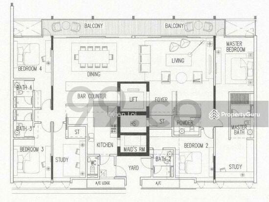 Botanika 50 Holland Road 5 Bedrooms 2906 Sqft Condos Apartments For Sale By Vivien Loi S 8 000 000 23482172