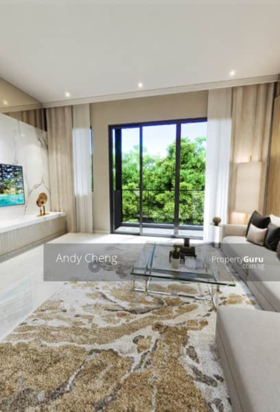 Modern Luxurious Living Concept Strata House With Full Condo Facilities #128587240